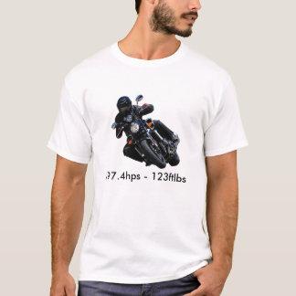 starVmax.bike.1, 197.4hps - 123ftlbs T-Shirt