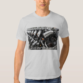 starVmax Grey Shirt design