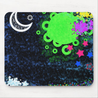 stary eyed mouse pad