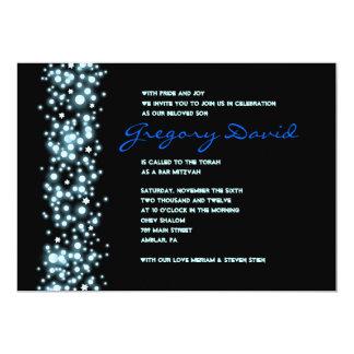 STARY NIGHT Bar Bat Mitzvah Invitation