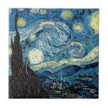 Stary Night by Van Gogh - Trivet Tile