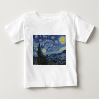 Stary Night by Vincent Van Gogh Baby T-Shirt