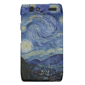 Stary Night by Vincent Van Gogh Droid RAZR Covers