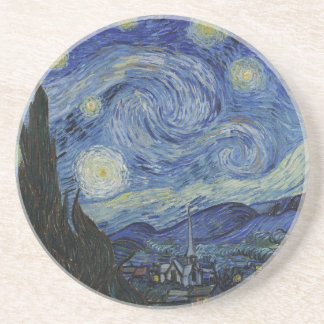 Stary Night by Vincent Van Gogh Coaster