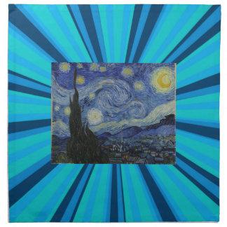 Stary Night by Vincent Van Gogh Cloth Napkins