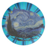 Stary Night by Vincent Van Gogh Plates