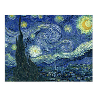 Stary Night by Vincent Van Gogh Post Cards