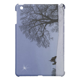 Stary Night & Tractor iPad Case