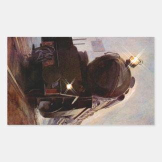 Stat de acero de la locomotora del vintage del rectangular altavoces