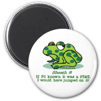 STAT Froggie Imán Redondo 5 Cm
