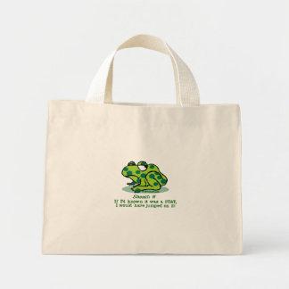 STAT Froggie Mini Tote Bag