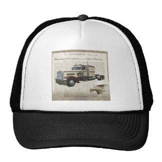 stat trucker hat