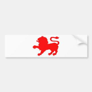 State Badge of Tasmania Bumper Sticker