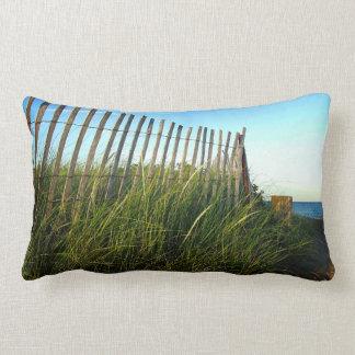 State Beach Dune Fence Pillow - Oak Bluffs