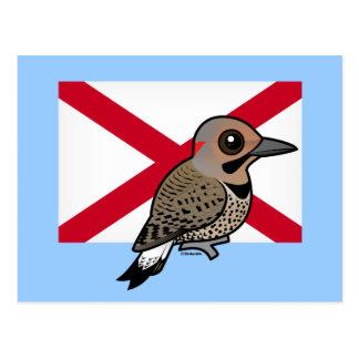 State Birdorable of Alabama: Northern Flicker Postcard