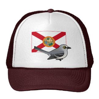State Birdorable of Florida; Northern Mockingbird Trucker Hat