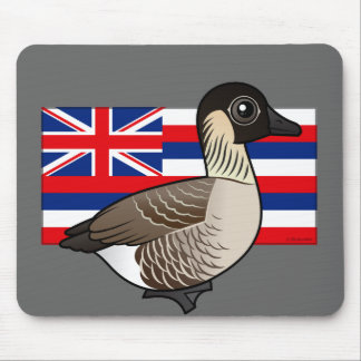 State Birdorable of Hawaii: Nene Mouse Pad