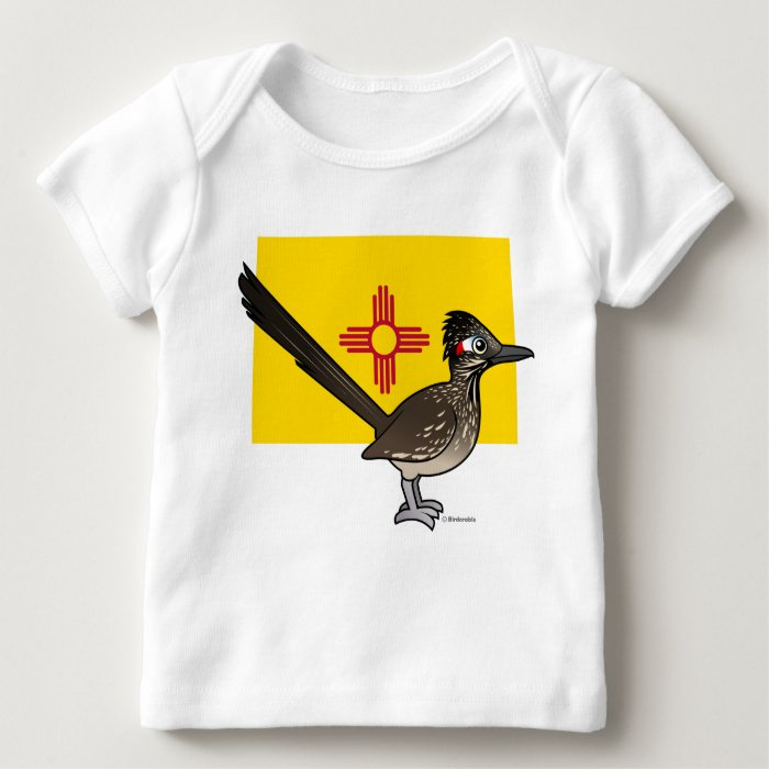 State Birdorable of New Mexico: Roadrunner Baby T-Shirt