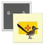 State Birdorable of New Mexico: Roadrunner Button