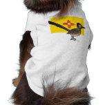State Birdorable of New Mexico: Roadrunner Doggie Tee Shirt