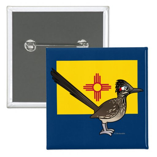 State Birdorable of New Mexico: Roadrunner Pins
