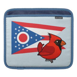 State Birdorable of Ohio iPad Sleeve