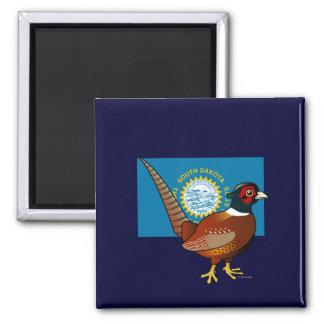 State Birdorable of South Dakota: Common Pheasant Refrigerator Magnet