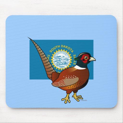 State Birdorable of South Dakota: Common Pheasant Mousepads