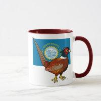 State Birdorable of South Dakota: Common Pheasant Combo Mug