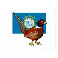 State Birdorable of South Dakota: Common Pheasant Postcard
