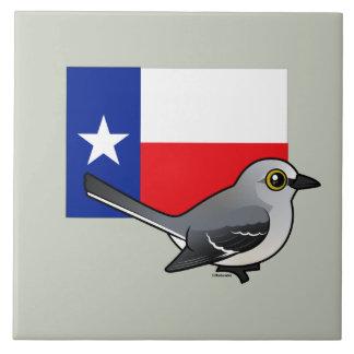 State Birdorable of Texas: Northern Mockingbird Tile