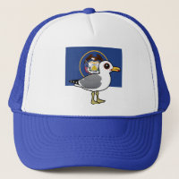 State Birdorable of Utah: California Gull Trucker Hat