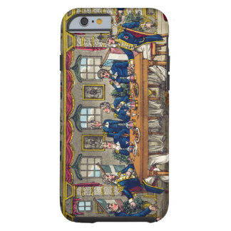 State Cabin, Newcome's Exit after Dinner, plate fr Tough iPhone 6 Case