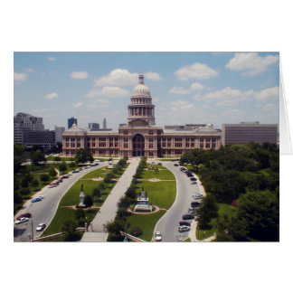 State Capital - Austin, Texas Greeting Card