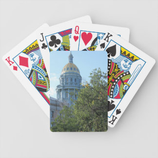 State Capital Bicycle Playing Cards