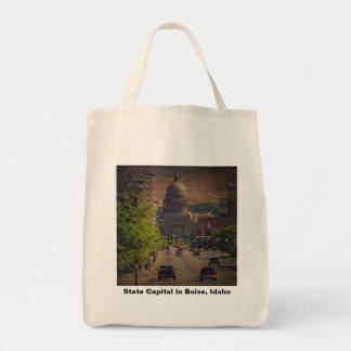 State Capital  in Boise, Idaho Tote Bag