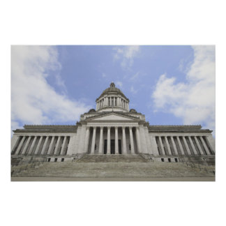 State Capital in Olympia Washington Poster