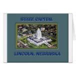 State Capital Lincoln Nebraska Greeting Card