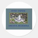 State Capital Lincoln Nebraska Sticker