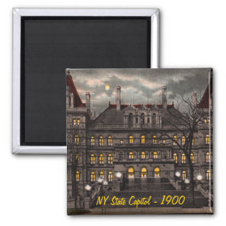 State Capitol Albany NY Magnet