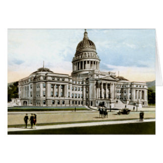 State Capitol at Boise Idaho Circa 1913 Card