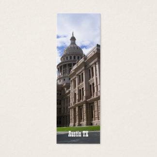 State Capitol Building, Austin TX-Bookmark Mini Business Card