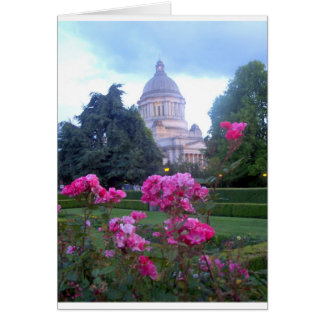 State Capitol Building in Olympia, WA Card