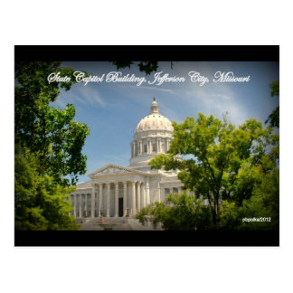 State Capitol Building of Missouri Postcard