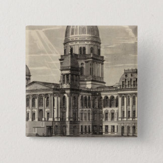 State Capitol building, Springfield, Ill Button