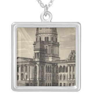 State Capitol building Springfield Ill Necklaces