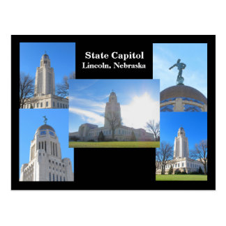 State Capitol collage postcard 2012 #20