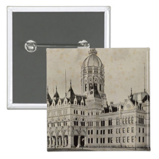 State Capitol, Hartford Pinback Button