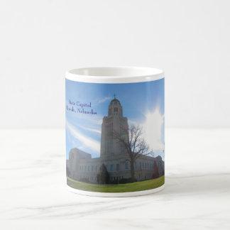 State Capitol Lincoln, NE  mug 4 Basic White Mug