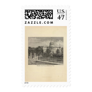 State Capitol, Madison, Wis Stamp